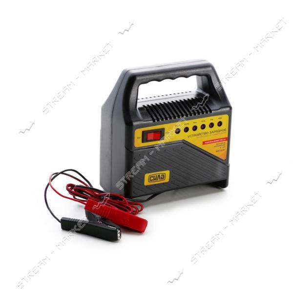 Зарядное устройство СИЛА 900201 6-12 V/4 A светодиодный индикатор