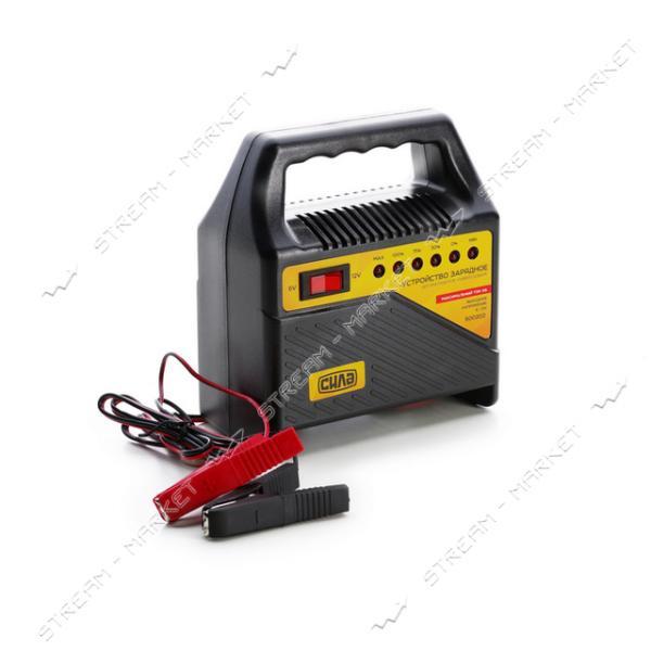 Зарядное устройство СИЛА 900202 6-12 V/6 A светодиодный индикатор