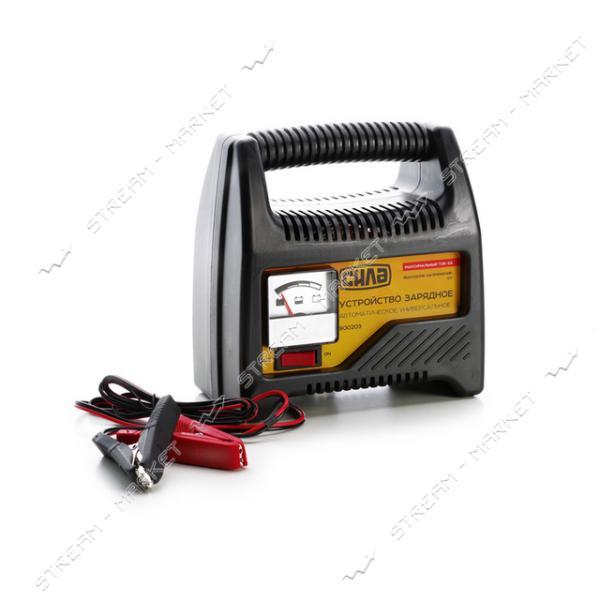 Зарядное устройство СИЛА 900203 12 V/6 A стрелочный индикатор