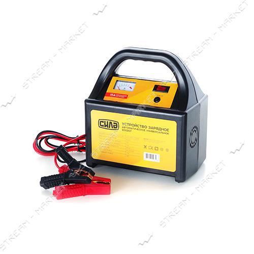 Зарядное устройство СИЛА 900207 12-24 V/15 A стрелочный индикатор