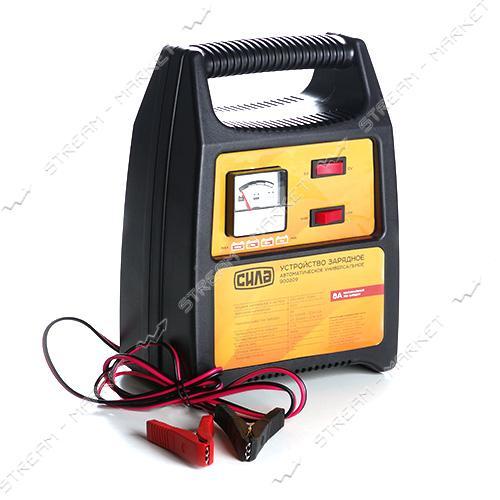Зарядное устройство СИЛА 900209 6-12V/8A стрелочный индикатор
