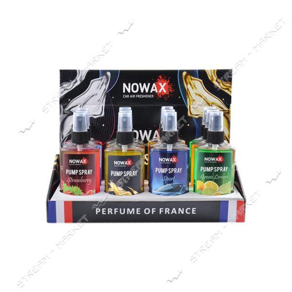 Автомобильный ароматизатор воздуха NOWAX NX07531 mix №2 75 мл 12 шт