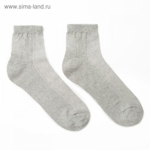 Носки мужские, цвет МИКС, размер 29