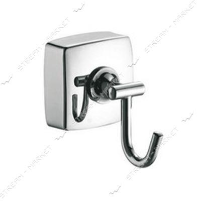 Вешалка для ванной комнаты 1-крючок К-025-1