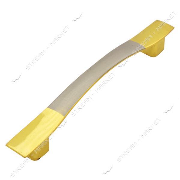 Ручка мебельная 8115-96 золото-сатин