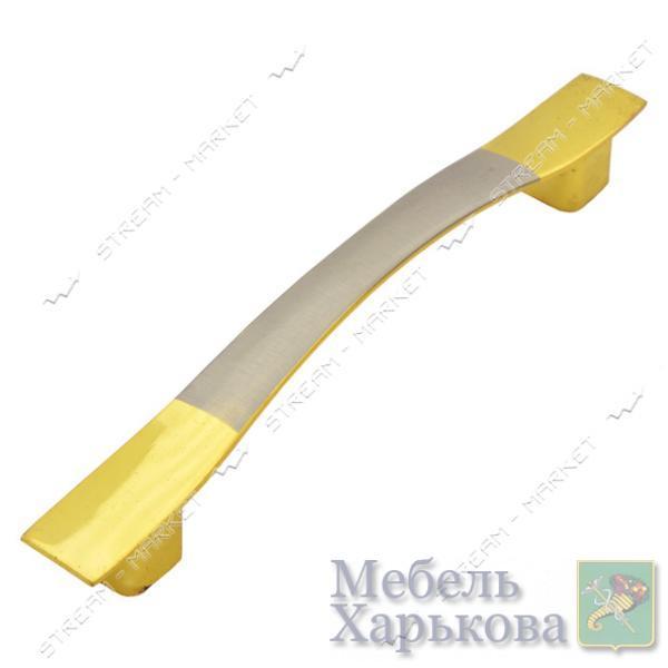 Ручка мебельная 8115-96 золото-сатин - Мебельные ручки в Харькове