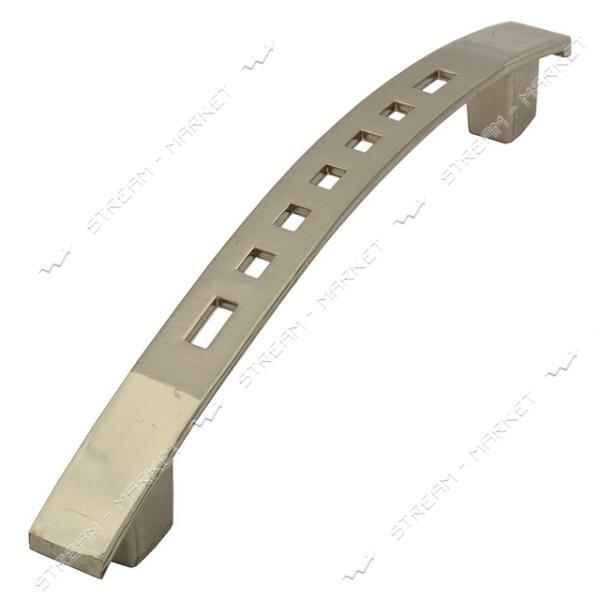 Ручка мебельная 8633-96 хром-сатин