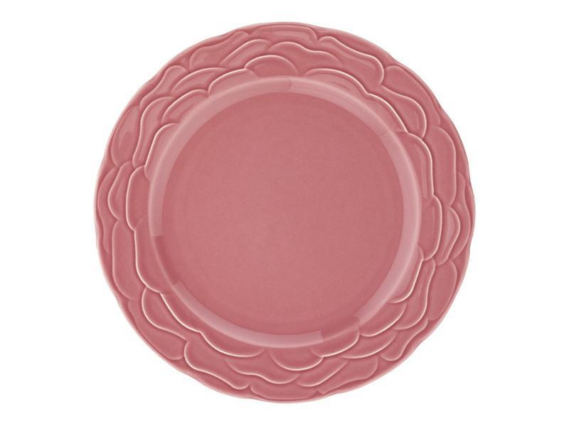 Тарелка Lefard Атена темно-розовая 22 см, 942-020