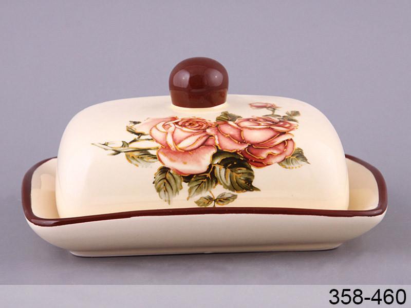 "Масленка ""Корейская роза"", 17х12х8 см, Lefard, 358-460"