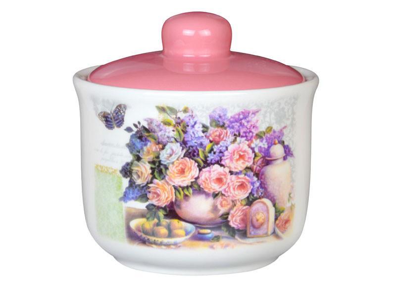 """Сахарница """"Розовый букет"""" 300 мл, Lefard, 358-825"""