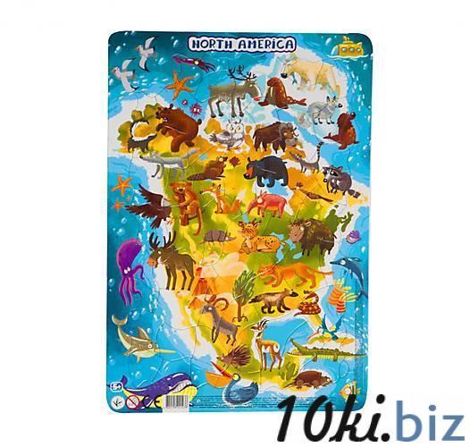 """Пазл DoDo в рамке """"Северная Америка"""" R300177 - Пазлы, головоломки в магазине Одессы"""