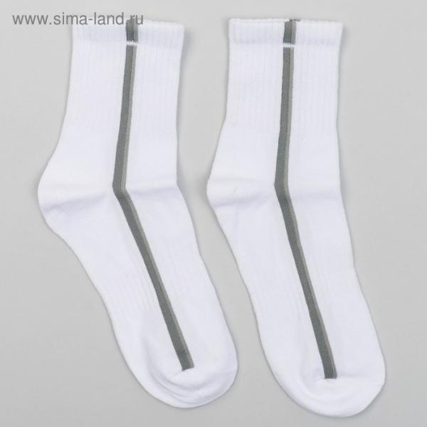 Носки детские, цвет белый, размер 16