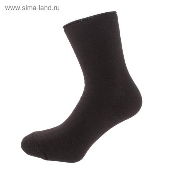 Носки мужские махровые, цвет МИКС, размер 25