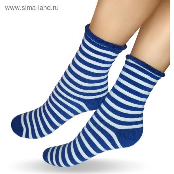 Носки детские махровые, цвет микс, р-р 12-14