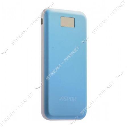 Aspor портативное зарядное устройство A386, 2USB, 12000mAh, цвета в ассортименте