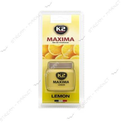 Ароматизатор К2 MAXIMA LEMON 50 мл