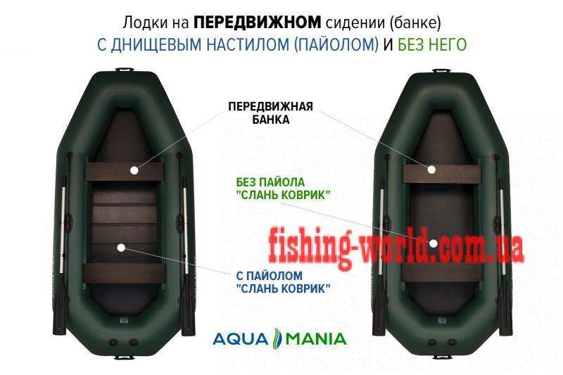 Фото Лодки ПВХ Aqua mania Надувная лодка Аква Мания А-300