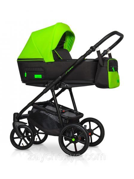 Детская универсальная коляска 2 в 1 Riko Swift 21 Ufo Green