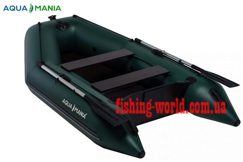 Фото Лодки ПВХ Aqua mania Двухместная плоскодонная моторная лодка AQUA MANIA AM-270