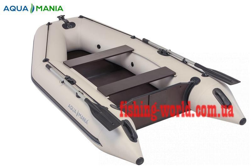 Фото Лодки ПВХ Aqua mania Двухместная плоскодонная моторная лодка AQUA MANIA AM-290