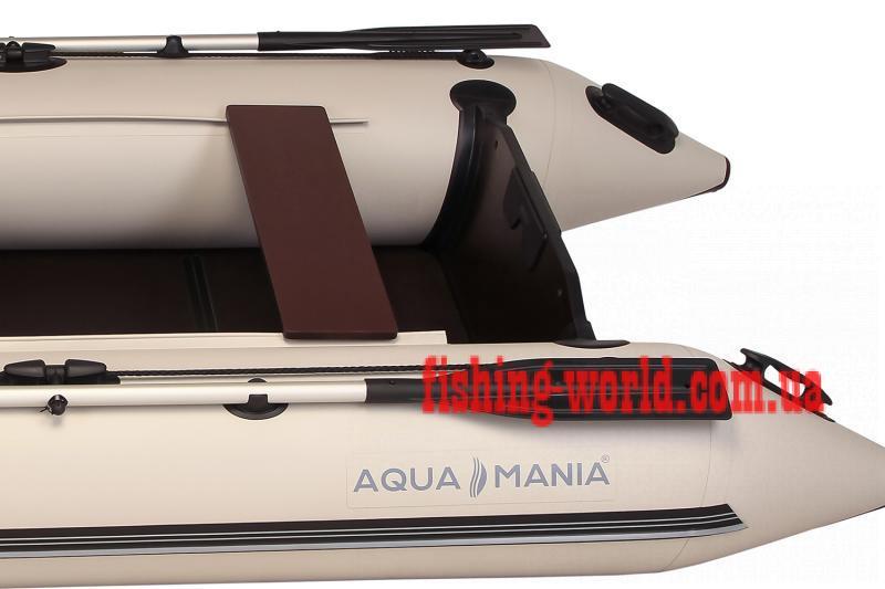 Фото Лодки ПВХ Aqua mania Двухместная плоскодонная моторная лодка AQUA MANIA AM-310