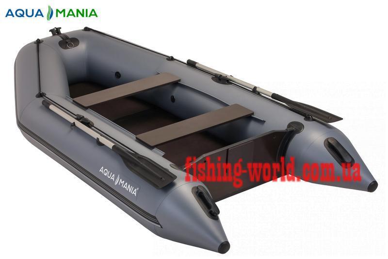 Фото Лодки ПВХ Aqua mania Двухместная плоскодонная моторная лодка AQUA MANIA AM-330