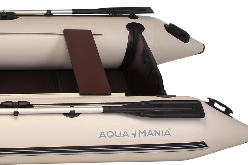 Фото Лодки ПВХ Двухместная плоскодонная моторная лодка AQUA MANIA AM-330