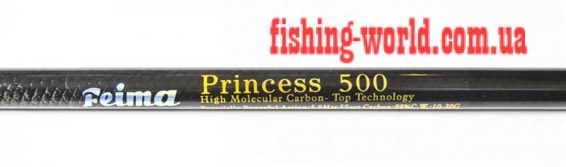 Фото Удочки и Спиннинги, Удочки, Удилища без колец Маховая удочка Princess 5m Carbon