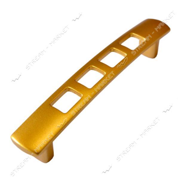 Ручка мебельная 5125 PETEK 96мм матовое золото