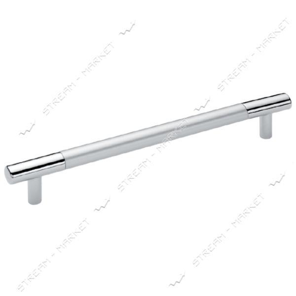 Ручка мебельная рейлинговая BOY CULP 448мм матовый хром-хром