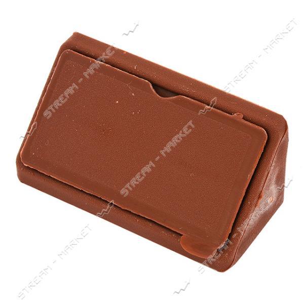 Уголок мебельный пластик двойной коричневый