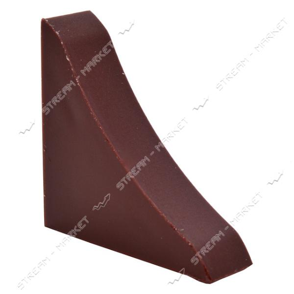Заглушка для плинтуса универсальная коричневая