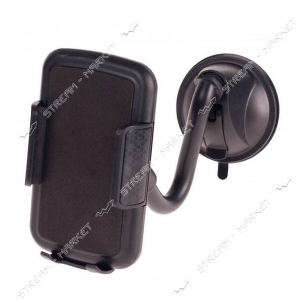 Держатель мобильного телефона PULSO UH-2055BK до 110мм на гибкой ножке