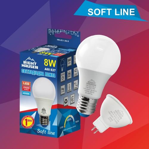 led лампа 8w RH