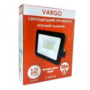 Прожектор VARGO 30W, 220V, 2700lm, 6500К