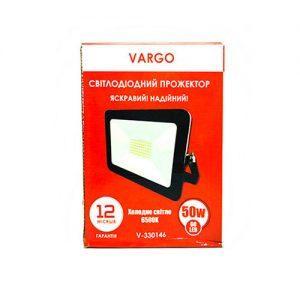 Прожектор VARGO 50W, 220V, 4500lm, 6500К