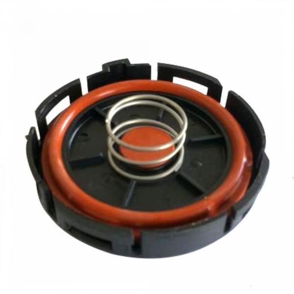 Клапан вентиляции картерных газов 11127555212 BMW Крышка клапанная Ремкомплект клапана вентиляции картерных газов N46N, N46K, N46T (клапан встроен в крышку двигателя) 11127555212 (11127553171) для BMW N46 E81 E82 E84 E85 E87 E88 E90 E91 E92 E93 устанавлив