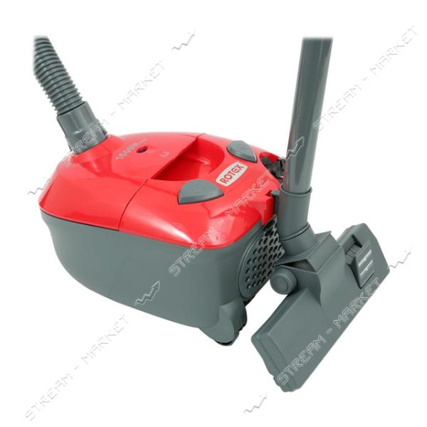 Пылесос мешковой Rotex RVB01-P red 1500Вт 2л