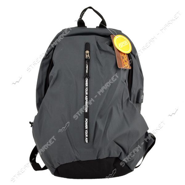 Рюкзак ASPOR Classic waterproof серый