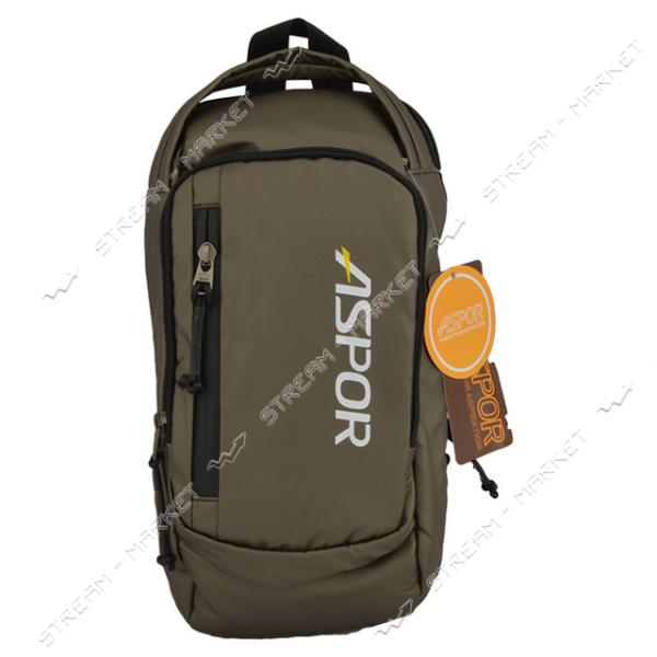 Сумка ASPOR Backpack Mini цвет графит