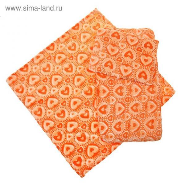 Набор для детской коляски 3 предмета, цвет оранжевый 22100