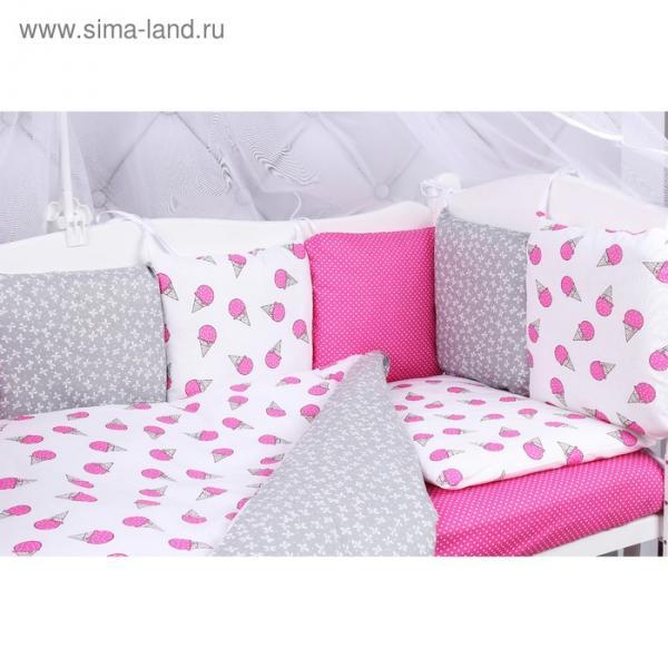 Комплект в кроватку Sweet, 15 предметов, бязь