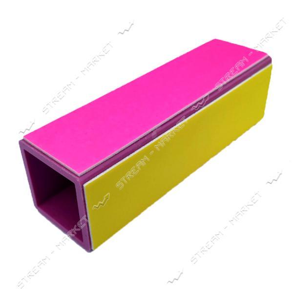 Полировщик для ногтей Cosmetics №36-9 4 стороны на пластиковой основе