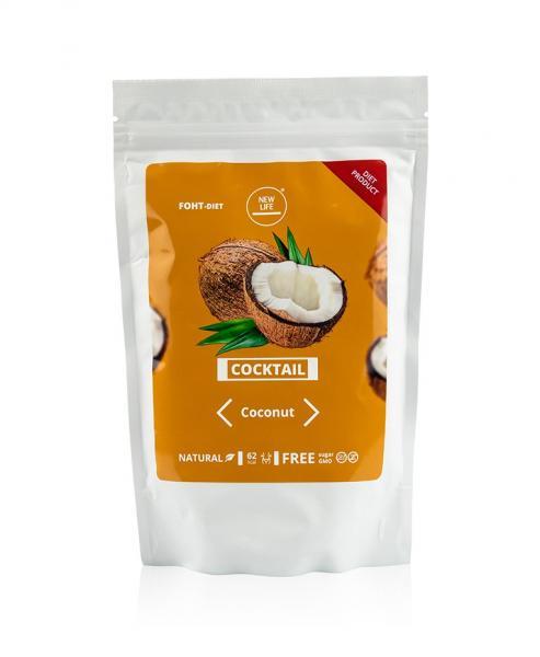 Коктейль с протеинами клейчатки Кокос и Манго