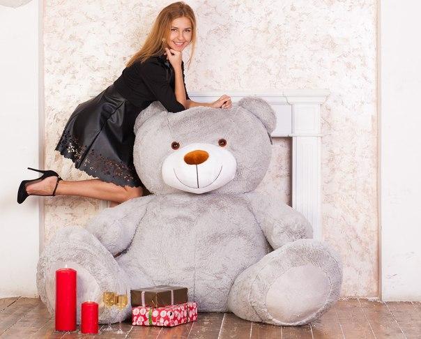 Плюшевый медведь Марти 170 см.