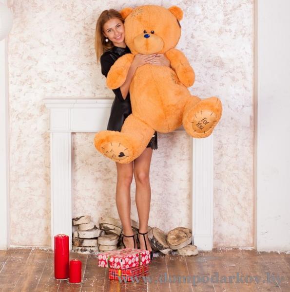 Фото ПОСМОТРЕТЬ ВЕСЬ КАТАЛОГ, Текстильные изделия , Мягкие игрушки / медведи плюшевые  Плюшевый медведь Тедди 150 см.