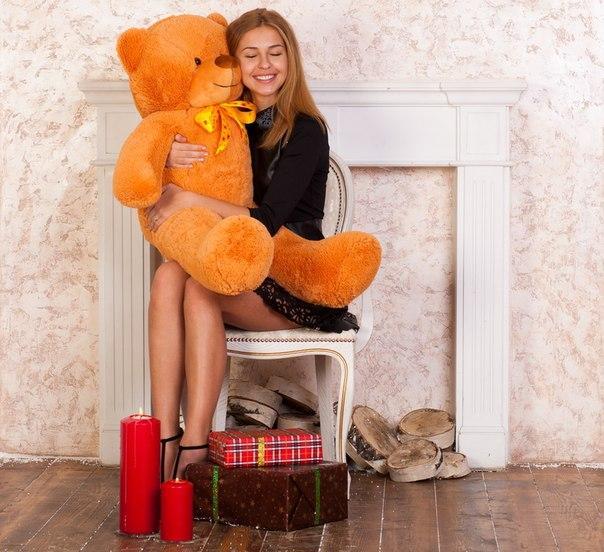 Плюшевый медведь Феликс 120 см.