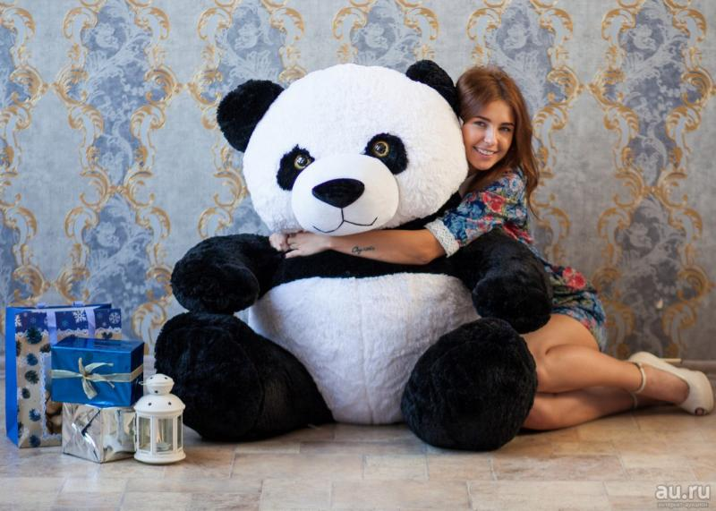 Плюшевый медведь Панда 220 см.