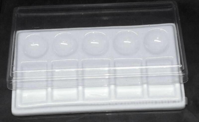 Фото Для зуботехнических лабораторий, АКСЕССУАРЫ, Инструменты Палитра прямоугольная на 10 секций