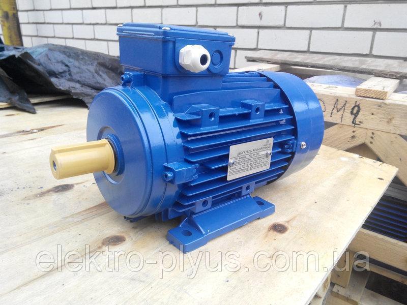 Электродвигатель асинхронный трехфазный АИР56B2 / АИР 56 B2 0,25 кВт 3000 об/мин